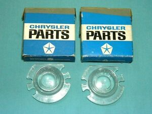 Nos Mopar 1962 1964 Dodge Dart plymouth Valiant Wagon Backup Lens Set