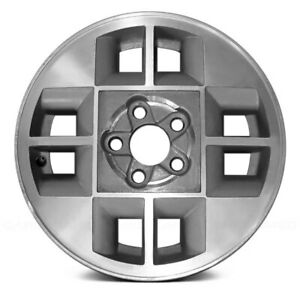 Replacement 8 Slots Silver Factory Alloy Wheel Fits Chevy Cavalier