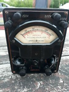 Vintage General Electric A c Load Visualizer multi Meter