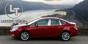 Buick Verano Stainless Steel Chrome Pillar Posts By Luxury Trims 2012 2017 6pc