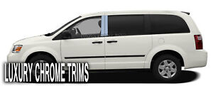 Dodge Grand Caravan Stainless Chrome Pillar Posts By Luxury Trims 2008 2017 4pcs