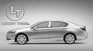 Acura Ilx Stainless Steel Chrome Pillar Posts By Luxury Trims 2013 2017 6pcs