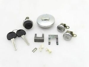 New Suzuki Samurai Gypsy Lockable Fuel Cap Door Glove Box Lock Set