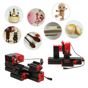 Diy 6 In 1 Motorized Transformer Machine Grinder Driller Metal Wood Lathe G7n9