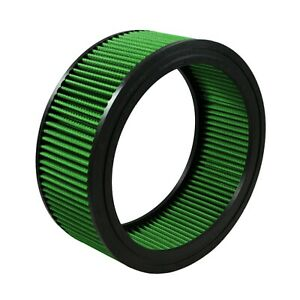 Green Filter 2072 Round Air Filter 3 68 H 8 Id 10 Od 10 Top