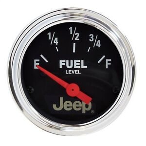 Autometer 880428 Jeep Electric Fuel Level Gauge