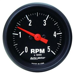 Autometer 2697 Z series In dash Electric Tachometer