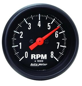 Autometer 2698 Z series In dash Electric Tachometer