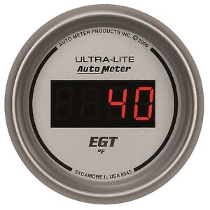Autometer 6545 Ultra lite Digital Pyrometer Gauge