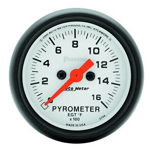 Autometer 5744 Phantom Electric Pyrometer Gauge Kit