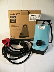 1 New In Box Little Giant 5 msp 18 1 6hp Utility Sump Pump