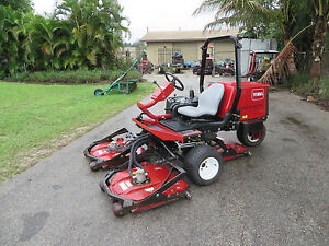 Toro 3505d Groundsmaster 32 Hp Kubota Turbo Diesel Rotary Mower 2326 Hrs