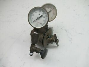 Airco Dual Gauge Gas Regulator Heavy Duty Brass