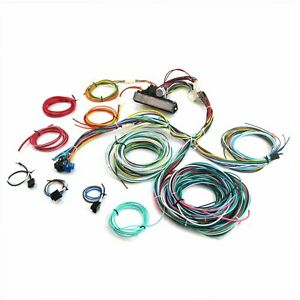 Ultimate 15 Fuse 12v Conversion Wiring Harness 38 1938 Ford Coupe Rod Hot