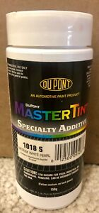 1018 S 150 Color Medium White Pearl Dupont Master Tint Specialty Adit