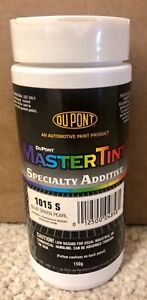 1015 S Dupont Master Tint Specialty Additive Color Blue Green Pearl 150 Grams