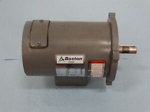 Boston Pm925t Motor 1 4hp 1750rpm Frame 56c 90vdc 2 5a