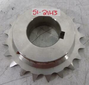 1 5 8 Stainless Steel Sprocket 50b21ss