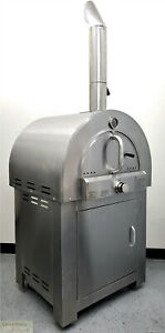 Pizza Oven Outdoor Lpg Propane Gas Grill Stainless Steel Stone Spatula Kit New