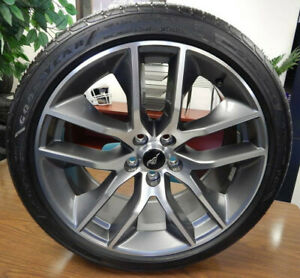 2015 2017 Factory Oem 20 Ford Mustang Wheels W Goodyear Tires