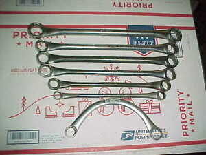 Vtg Blue Point By Snap On Box Wrench Set Xd3032 2428 2426 2526 2022 1618 Ox2024