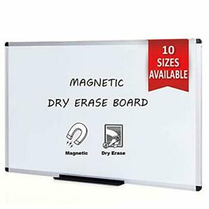 Viz pro Magnetic Dry Erase Board 36 X 24 Inches Silver Aluminium Frame