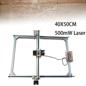 500mw Laser Engraver 40x50cm Diy Engraving Wood Logo Marking Printing Printer Us