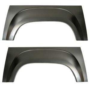 Pickup Truck Bed Wheel Arch Repair Panel Steel Kit Pair Set For Gmc Sierra New