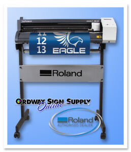 New 24 Roland Gs 24 Vinyl Cutting Plotter Camm 1 W Floor Stand 3 Yr Warranty