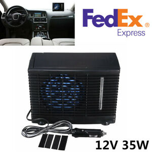 Portable 12v 3a Abs Evaporative Air Conditioner Air Cooler Fans For Home car suv