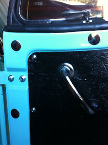 1948 1949 1950 Willys Overland Jeepster Trim