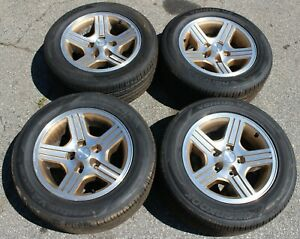 1988 1990 Camaro Iroc Z 16x8 Factory Gold Wheels Set Of 4 W Tires Nice Used