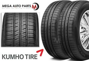 2 New Kumho Solus Ta31 215 55r17 94v Versatile All Weather Performance Tires
