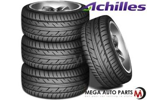4 New Achilles Atr Sport 205 50r16 87v High Performance Tires 205 50 16