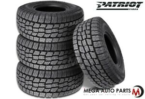 4 Patriot At Lt265 70r17 10p 121 118s All terrain On off road Truck Suv A t Tire
