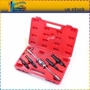 5pcs Inner Blind Bearing Puller Set Internal Slide Hammer Tool With Case