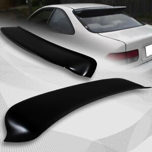 For 1996 2000 Honda Civic Coupe Black Abs Plastic Rear Window Roof Visor Spoiler