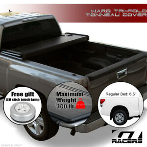 For 2004 2006 Tundra Double Cab 6 2 Short Bed Tri Fold Hard Tonneau Cover Jr