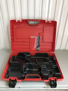 Hilti Case For Hammer Drill Te 4 a 6 a Drs case Only Original Heavy Duty