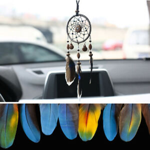 Car Pendant Dreams Catcher Feather Hangings Car Rearview Mirror Ornament Decor