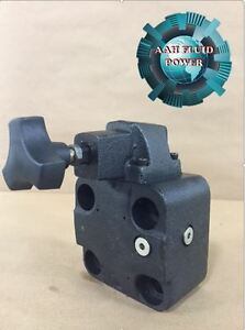 Vickers Cg06by40 Relief Valve Cg 06 By 40 Subplate Mount