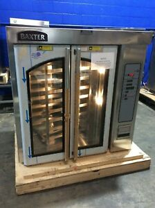 Baxter Ov310e Electric Rotating Rack Bakery Bread Oven Steam Injected