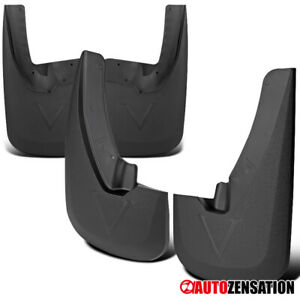 For 2009 2018 Dodge Ram 1500 Mud Flaps Splash Guards With Wheel Lip Front Rear