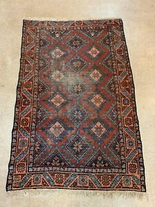 Antique Persian Hamadan 3 6 X 5 4 Oriental Rug
