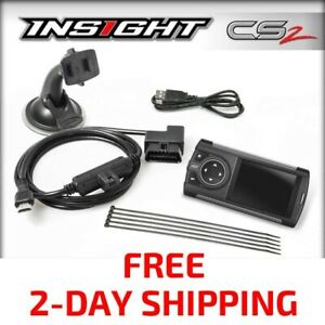 New Edge Insight Cs2 Gauge Display Monitor For All 1996 Obd2 Vehicles 84030
