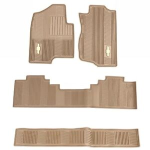 Oem Gm All Weather Floor Mats Set Cashmere 2007 2014 Chevrolet Tahoe Avalanche