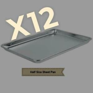 12 Pack Full Size Sheet Pan
