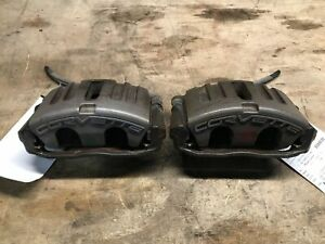 05 13 Chevrolet Corvette Pair Of Front Brake Calipers Left Right 37k Oem Lkq