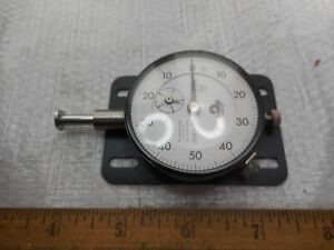 Mitutoyo Dial Indicator Model 2415 10 001 0 580 Range Excellent Condition
