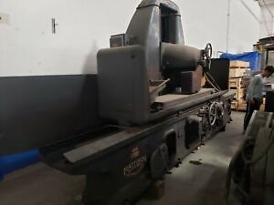Mattison 16 X 96 Automatic Surface Grinder With Electromagnetic Chuck